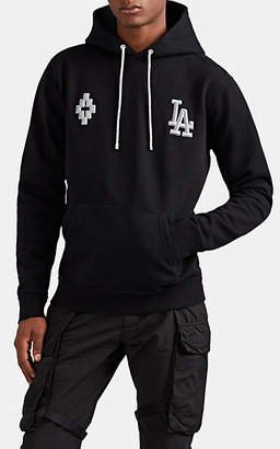Marcelo Burlon County of Milan Men's LA DodgersTM Cotton Hoodie - Black