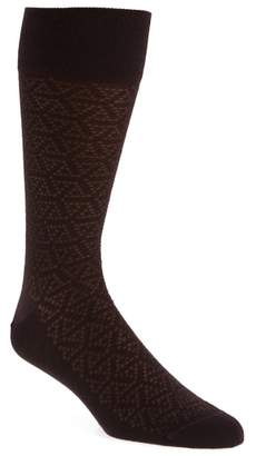 John W. Nordstrom R) Pointed Triangle Socks