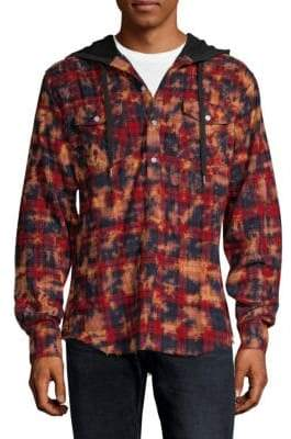 Flannel Cotton Hoodie