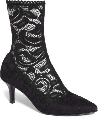 Opening Ceremony Queen Stretch Lace Sock Bootie