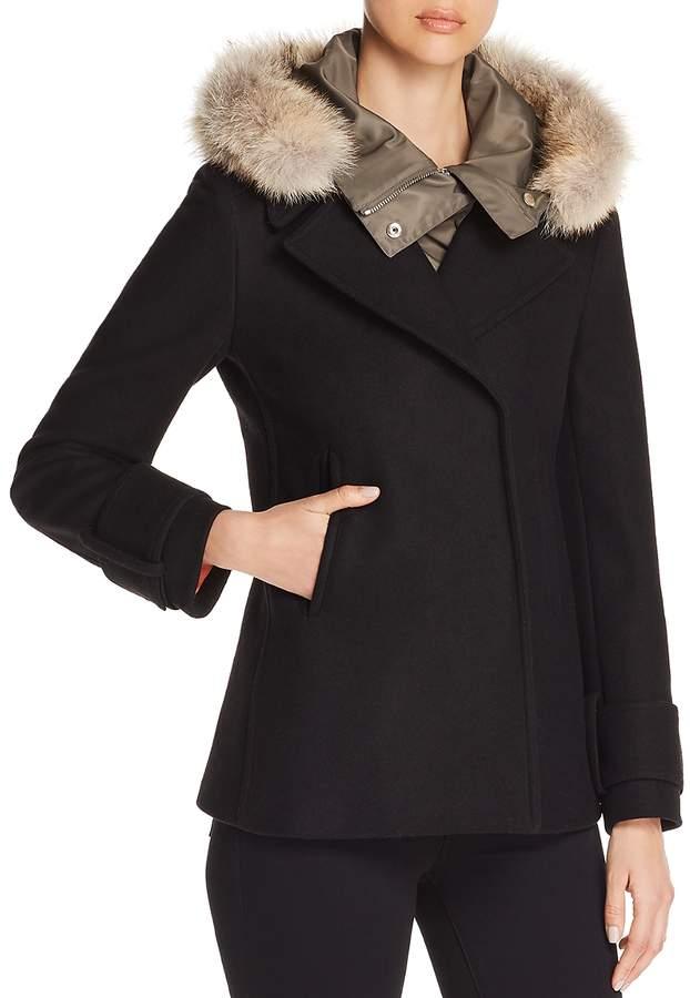 Glenvale Fur Trim Coat