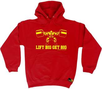Sex Weights and Protein Shakes Premium SWPS Premium - Lift Big Get Big (XL - ) HOODIE