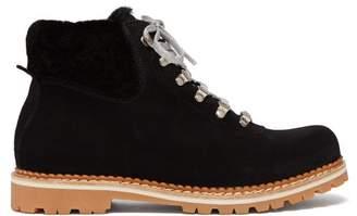 Montelliana - Sequoia Suede Boots - Womens - Black
