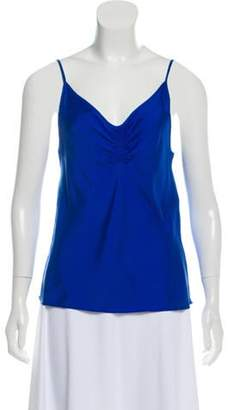 Balenciaga Silk Sleeveless Top Silk Sleeveless Top