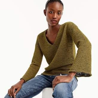 J.Crew Flared-sleeve swing sweater