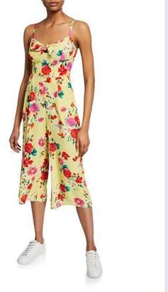 Yumi Kim Pretty Chic Cropped Floral Jumpsuit