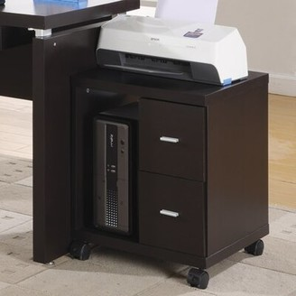 Monarch Specialties Inc. 2-Drawer Vertical Filing Cabinet Monarch Specialties Inc.