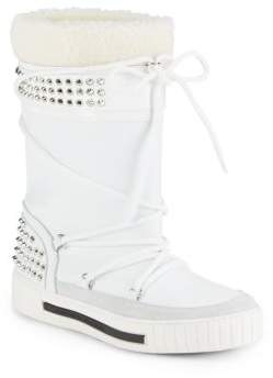 All Weather Faux Fur Boots $625 thestylecure.com