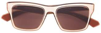 Dita Eyewear brown lens square sunglasses