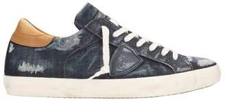 Philippe Model Paris Denim Blu Sneakers