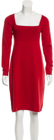 Max Mara MaxMara Weekend Silk & Wool-Blend Knit Dress w/ Tags