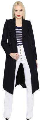 Sonia Rykiel Double Breasted Wool Coat