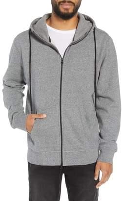 Hudson Regular Fit Hooded Zip Sweatshirt