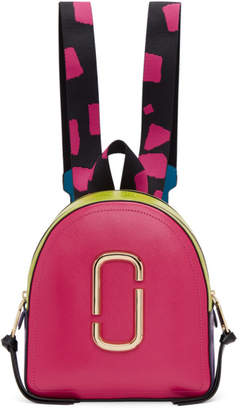 Marc Jacobs Pink The Pack Shot Backpack