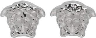 Versace Silver Mini Medusa Earrings