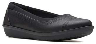Clarks Ayla Low Flat - Wide Width Available