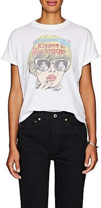 RE/DONE Women's Graphic Cotton T-Shirt - White
