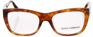 Dolce & Gabbana Marble Square Eyeglasses