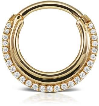 Dhara Maria Tash Hoop Single Earring - Yellow Gold