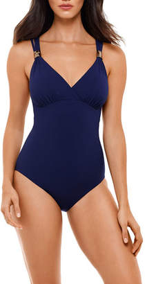 Miraclesuit Amoressa by Horizon Strappy One-Piece Swimsuit