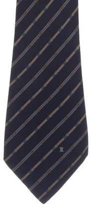 Celine Printed Silk Tie