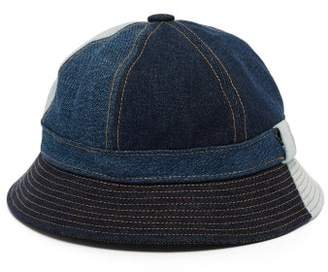 Acne Studios Denim Bucket Hat - Womens - Denim