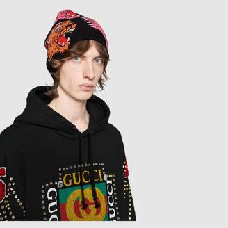 Gucci Wool panther face hat