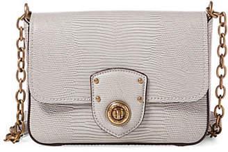 Lauren Ralph Lauren Textured Flap Crossbody Bag