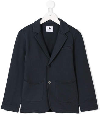 Macchia J Kids single breasted jersey blazer