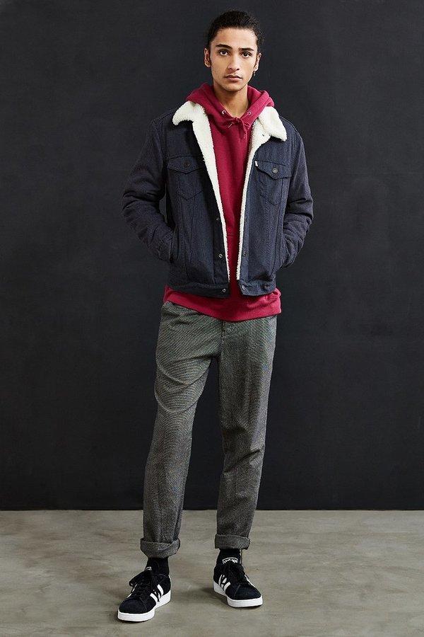 Levi's Levi's Flannel Sherpa Trucker Jacket 7