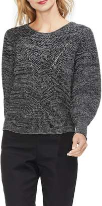 Vince Camuto Lace-Up Back Sweater