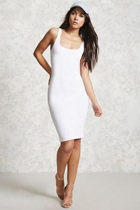 FOREVER 21+ Bodycon Midi Dress $9.90 thestylecure.com