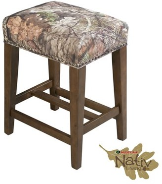 The Mossy Oak Nativ Living Backless Counter Stool