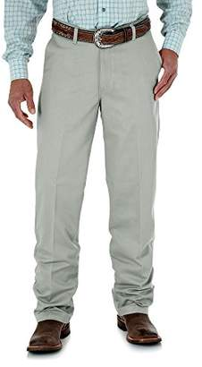 Wrangler Men's Tall Riata Flat-Front Relaxed-Fit Pant