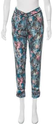 Zadig & Voltaire Floral Print Skinny Pants