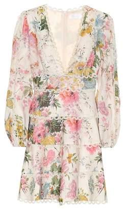 Zimmermann Heathers floral linen dress