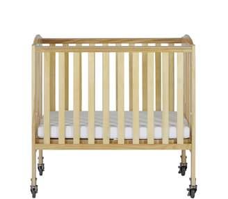Dream On Me 2 in 1 Folding Birch Portable Crib
