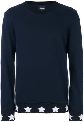 Just Cavalli star stripe sweatshirt