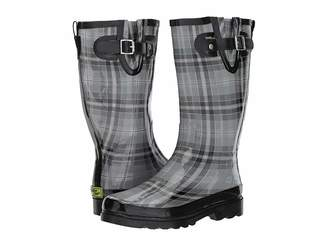 Western Chief Highland Plaid Women's Rain Boots