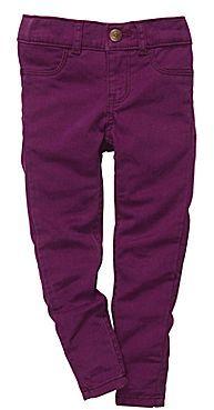Osh Kosh Purple Jeggings - Girls 2t-5t