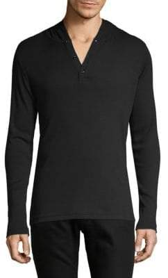 Saks Fifth Avenue Hooded Henley