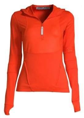 adidas by Stella McCartney Run Hooded Long Sleeve Top