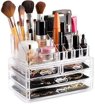 clear Cosmetic Storage Organizer - Easily Organize your Cosmetics