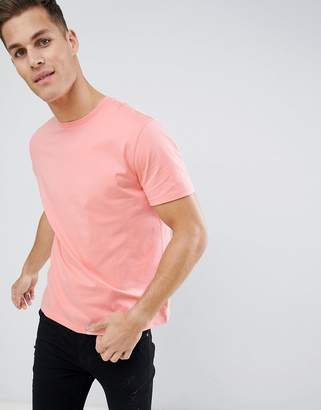 Asos DESIGN relaxed fit t-shirt in orange