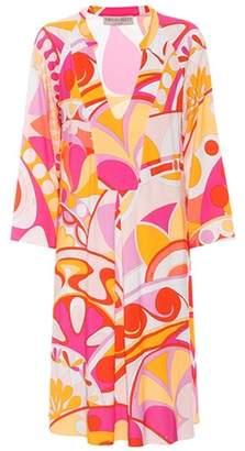 Emilio Pucci Beach Printed jersey dress