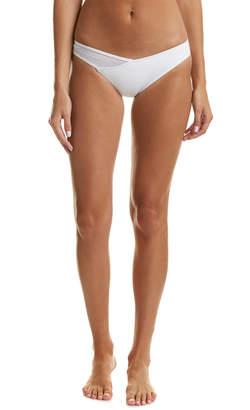 Dolce Vita Mesh Panel Bikini Bottom