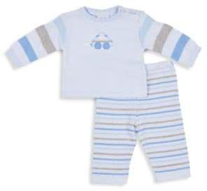 Florence Eiseman Baby Boy's Striped Sweater and Pant Set
