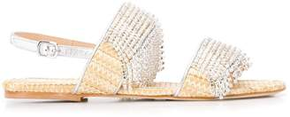 Polly Plume strass sandals