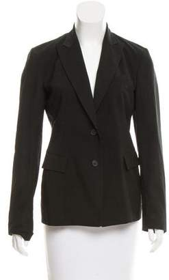 Donna Karan Lightweight Notch-Lapel Blazer