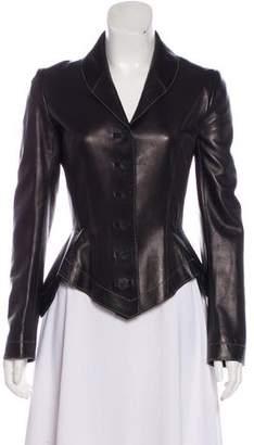 Alaia Lightweight Leather Jacket